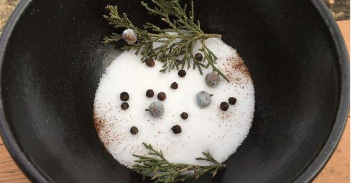 Le pouvoir nettoyant des bols de sel pour éliminer l'énergie négative de la maison