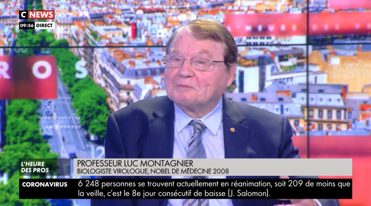 Le professeur Luc Montagnier