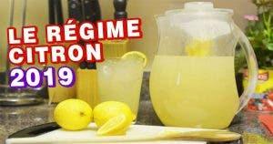 Le nouveau régime citron de 2019