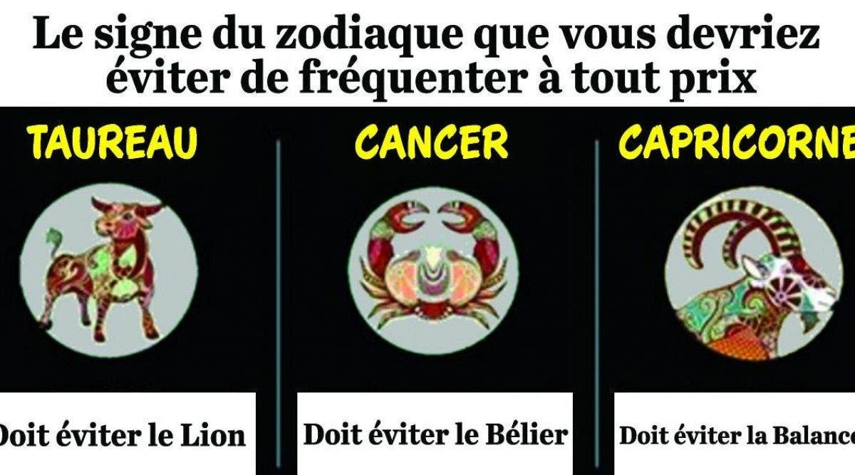 Compatibilité Verseau Taureau le signe du zodiaque que vous devriez éviter de fréquenter à
