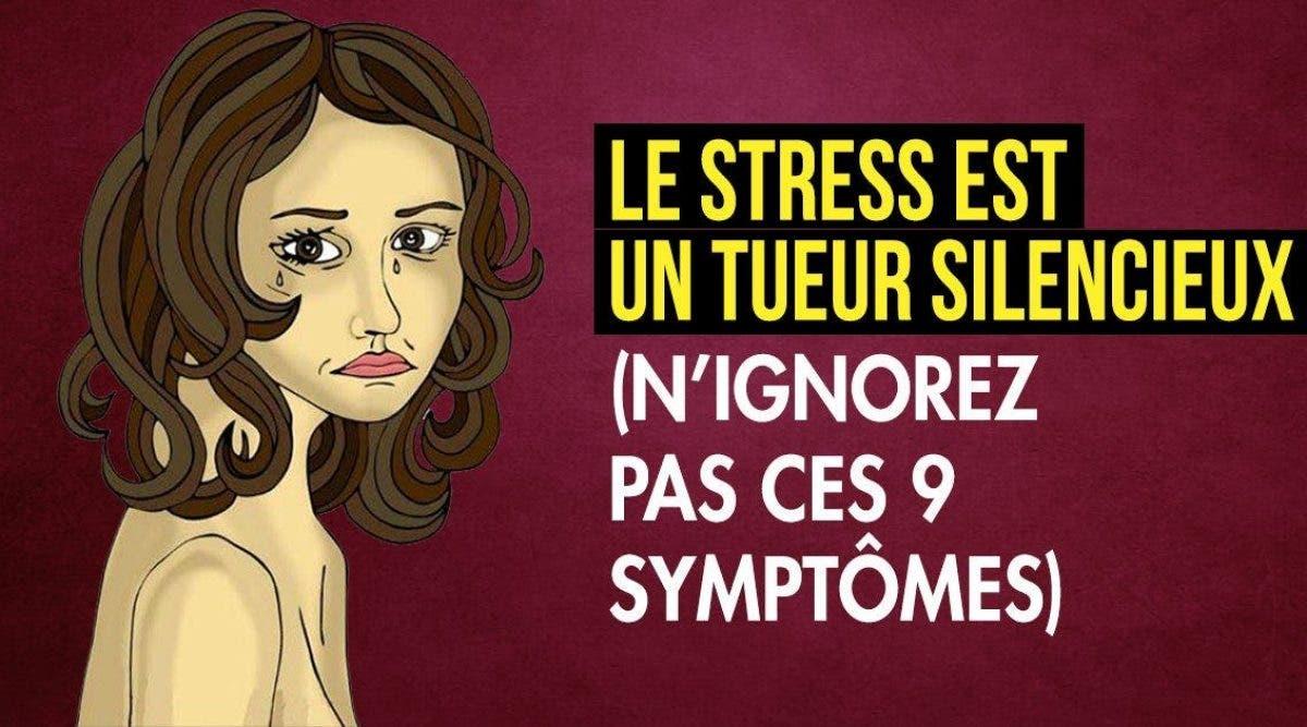 Le stress est un tueur silencieux
