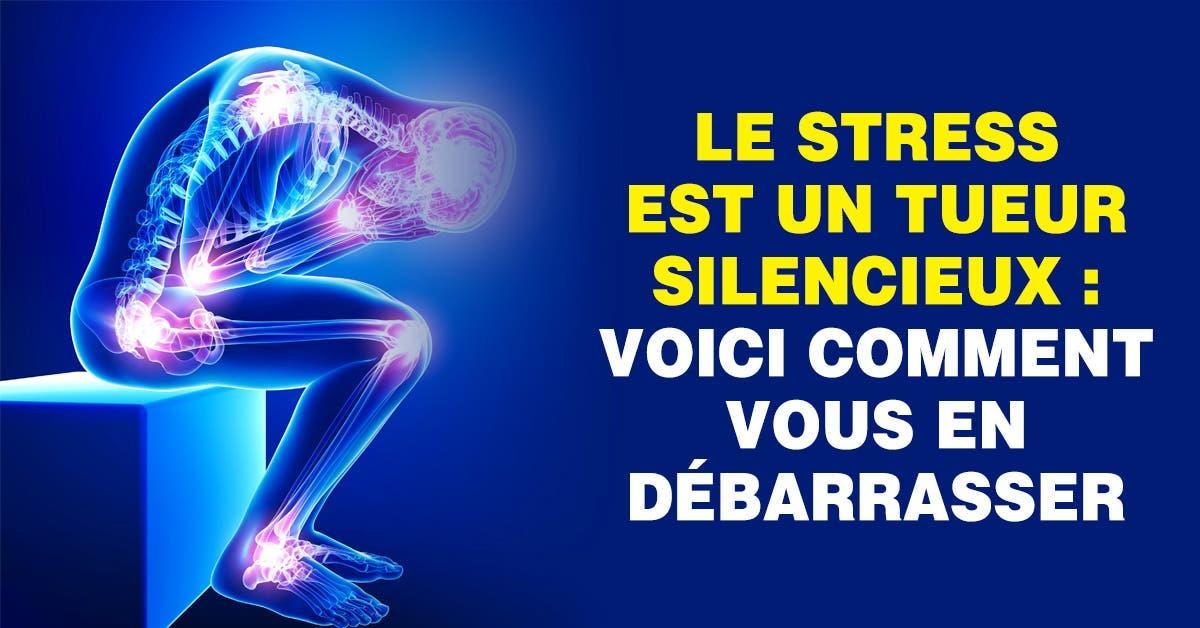 Le stress est un tueur silencieux voici comment vous en débarrasser