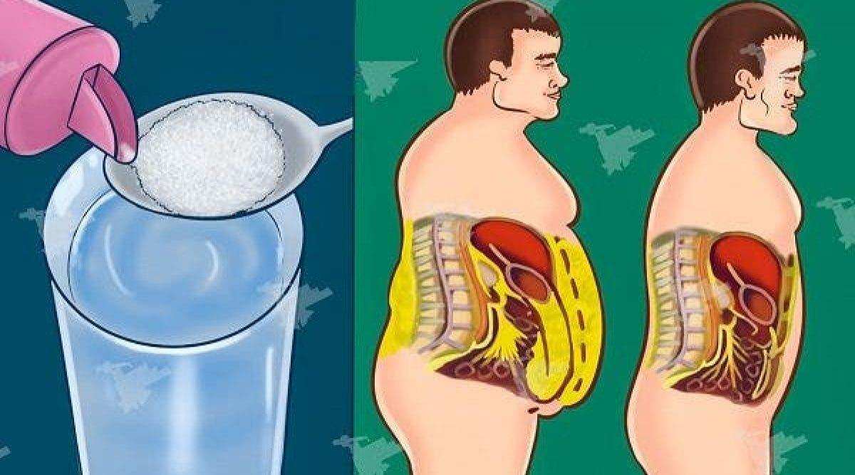 une détox complète du sucre pour l'organisme pour perdre du poids et améliorer la santé