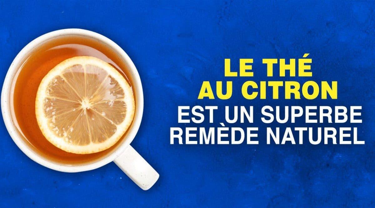 Voici pourquoi les médecins recommandent d'ajouter du citron dans votre thé