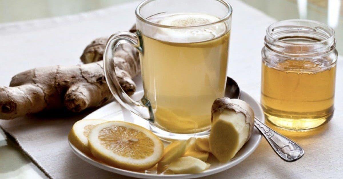 Le thé au gingembre facilite la digestion