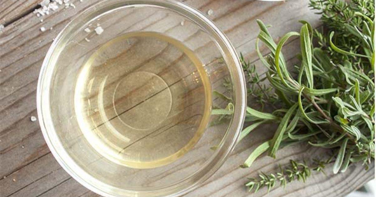 Le vinaigre de cidre pour traiter lacne11