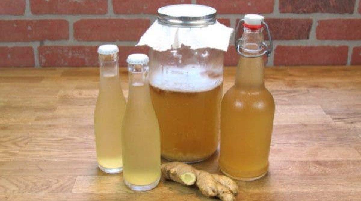 L'eau au gingembre