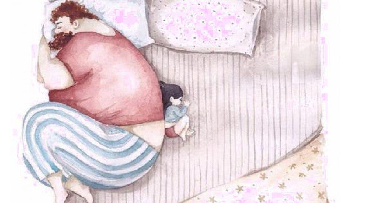 Les 14 illustrations adorables montrant l'amour entre un père et sa fille