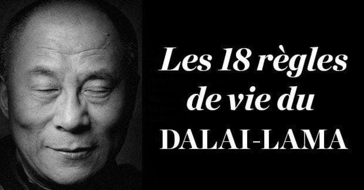 Les 18 regles de vie du Dalaii Lama1 1