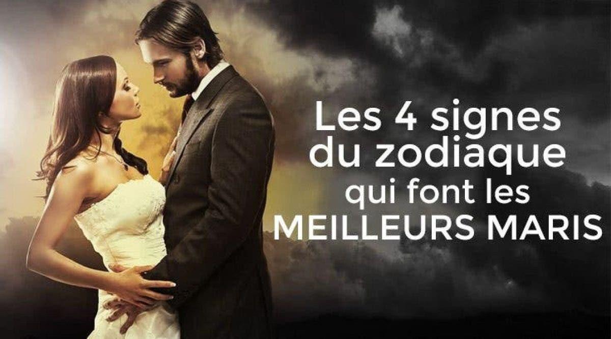 Les 4 signes du zodiaque qui font les meilleurs maris