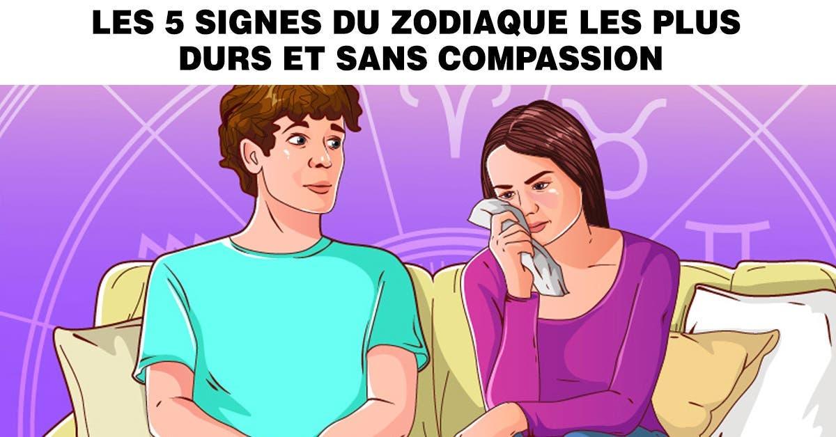 Les 5 signes du zodiaque les plus durs et sans compassion