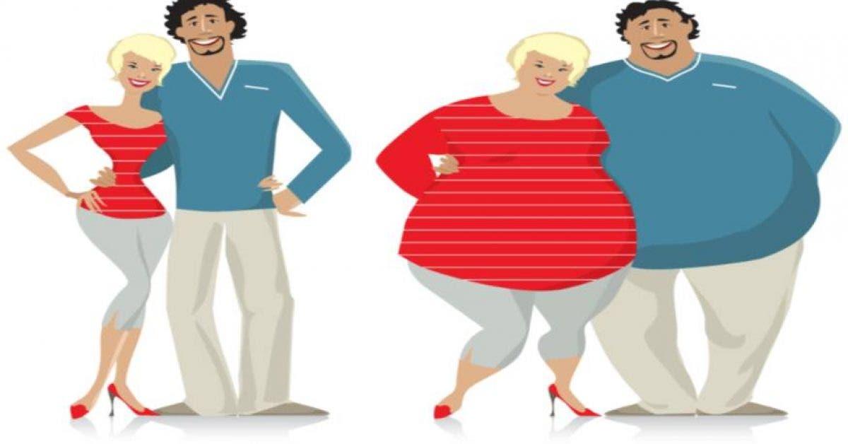 Les couples heureux prennent du poids selon une étude
