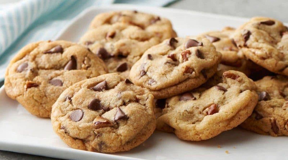 Les délicieux cookies au chocolat sans beurre