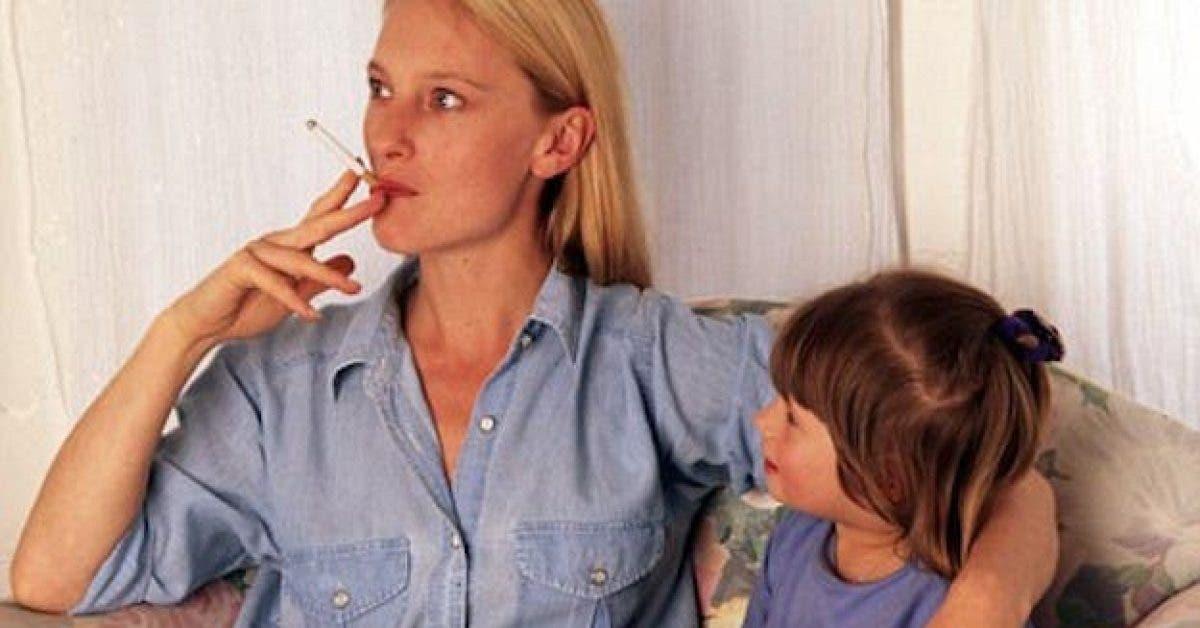 Les enfants qui vivent avec des fumeurs