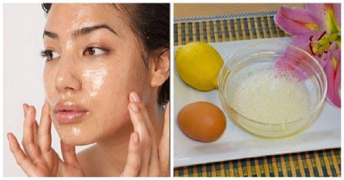 Ce puissant masque au citron diminue les rides et fait paraitre plus jeune en 5 minutes
