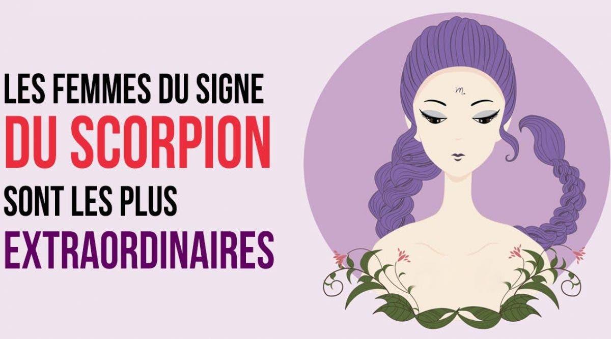 les femmes Scorpion sont le plus extraordinaire des signes du zodiaque