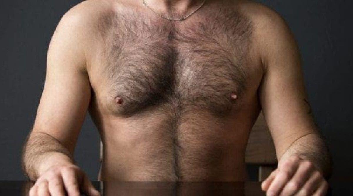 Les hommes au torse poilu sont plus intelligents d'après les scientifiques