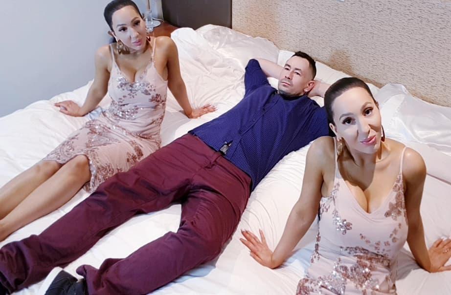 Les jumelles les plus identiques au monde partagent le même petit ami et veulent tomber enceintes en même temps