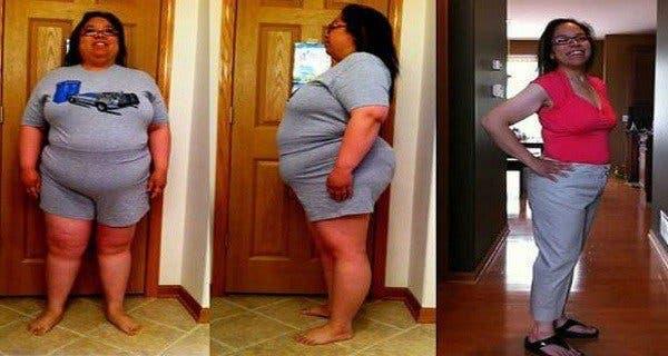 Les médecins n'en reviennent pas ! Cette femme a perdu la moitié de son poids en trois mois grâce à cette boisson