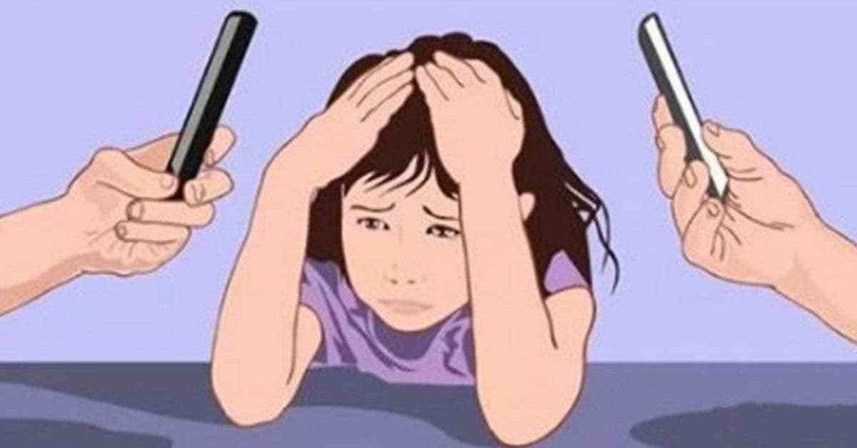 Les parents qui passent beaucoup de temps sur les smartphones nuisent au developpement de leurs enfants 1