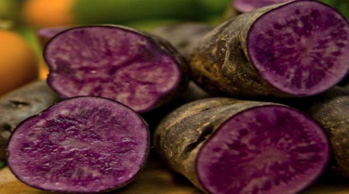Les patates douces violettes