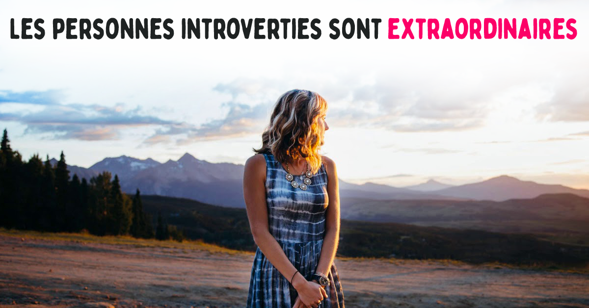 Les personnes Introverties
