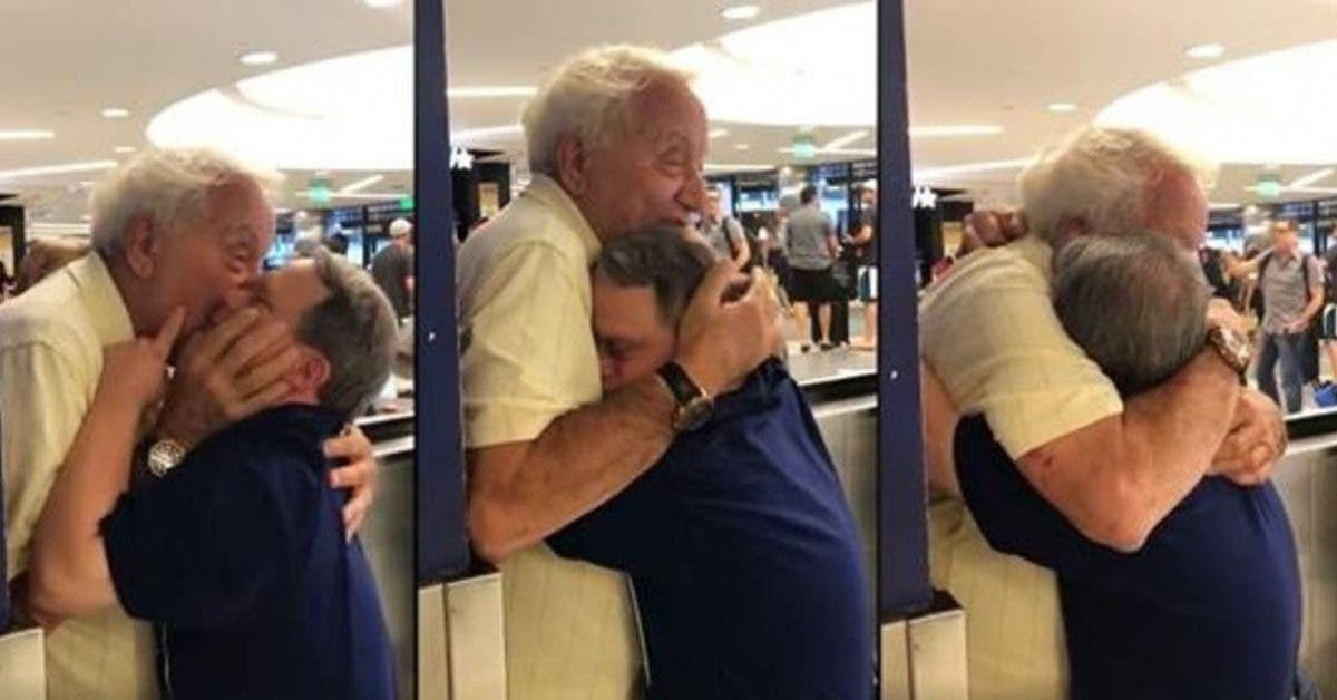 Les retrouvailles magnifiques entre un papa et son fils de 53 ans atteint de trisomie 21 1