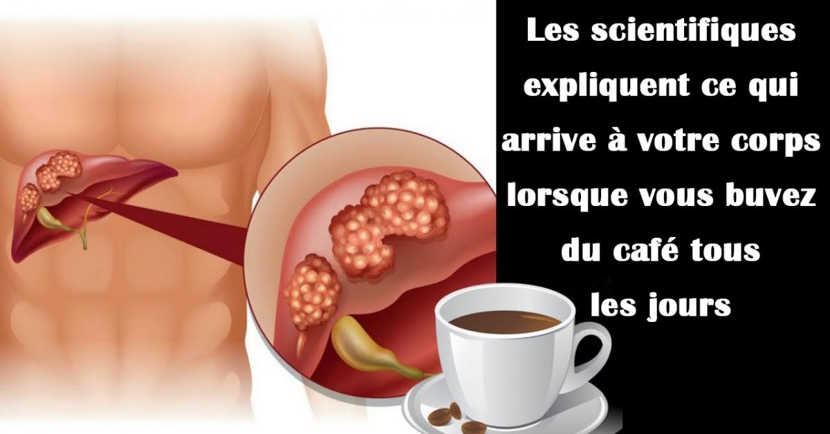 Les scientifiques expliquent ce qui arrive à votre corps lorsque vous buvez du café tous les jours
