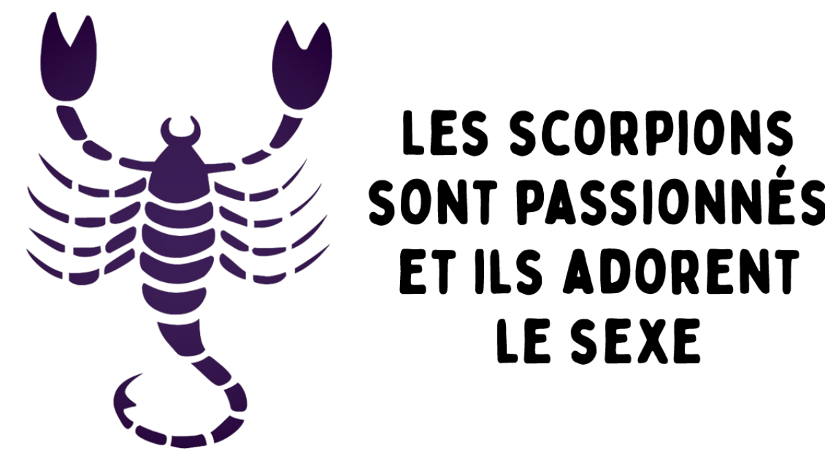 Les scorpions sont passionnés et ils adorent le sexe