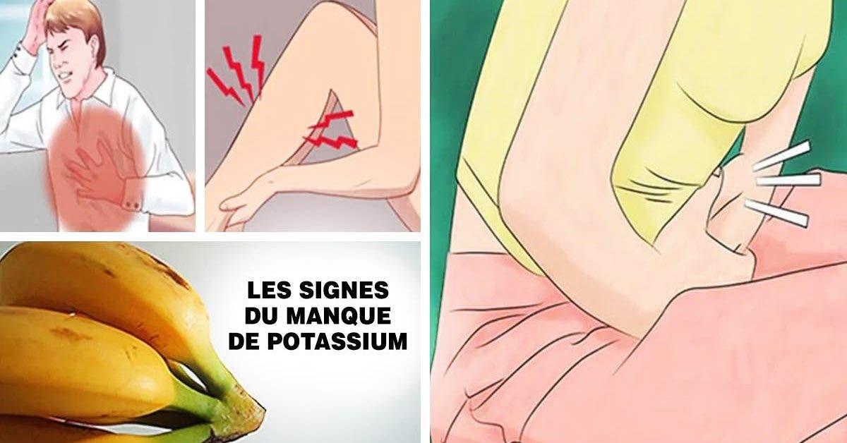 Le manque de potassium vous rend malade et fatigué