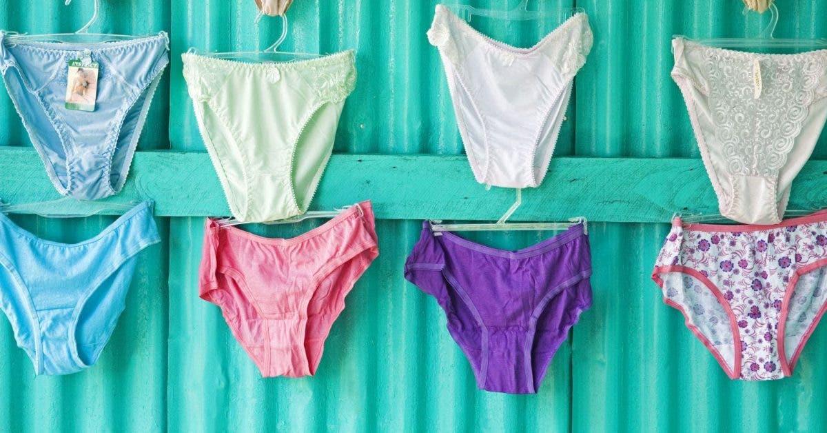 Les sous-vêtements d'une femme