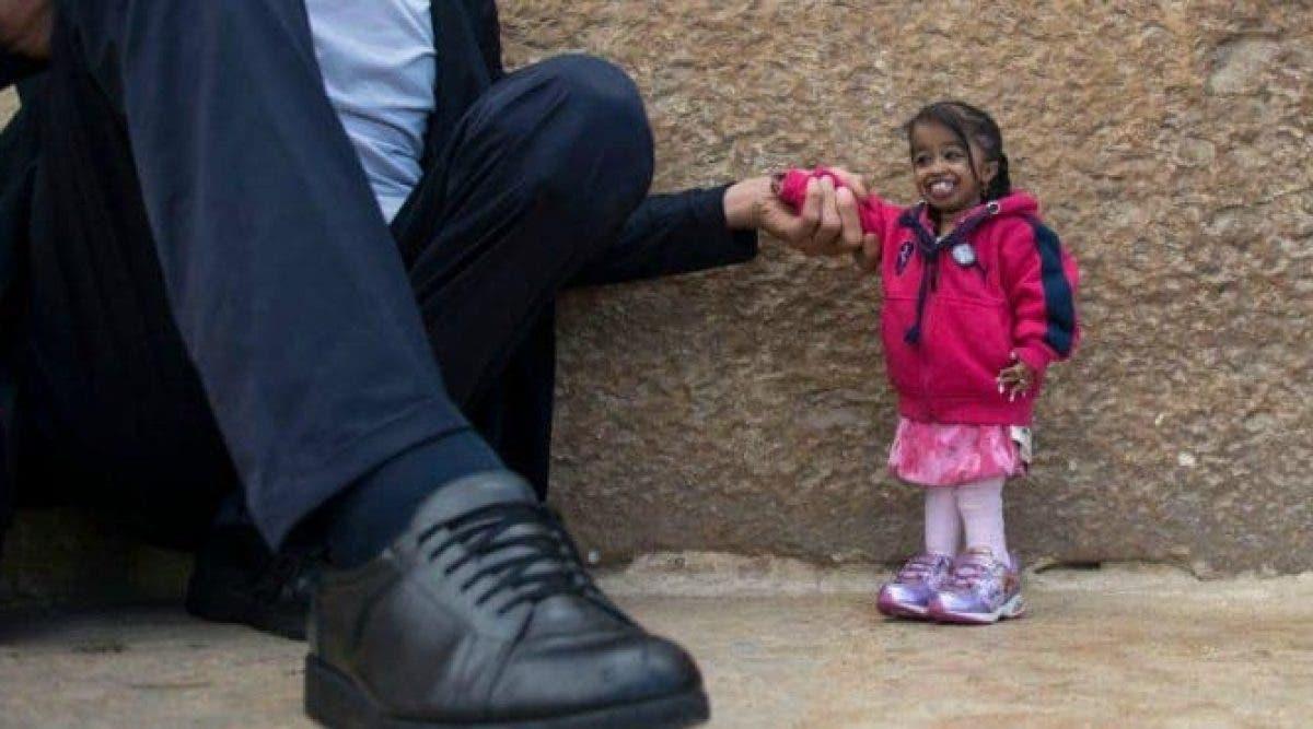 L'homme le plus grand et la femme la plus petite du monde