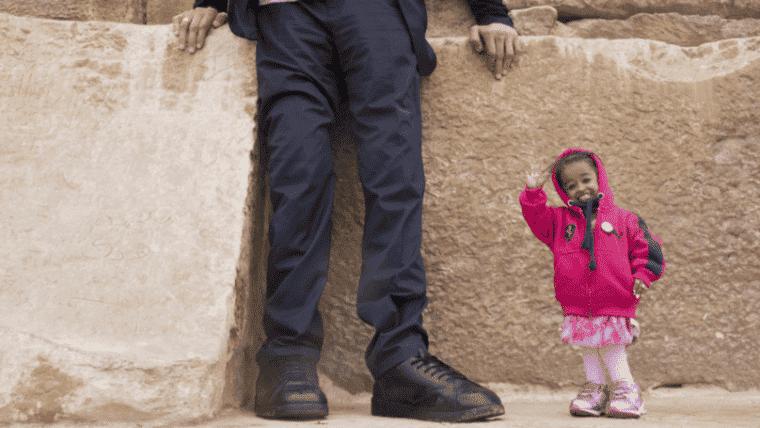 burri më i gjatë dhe gruaja më e shkurtër në botë