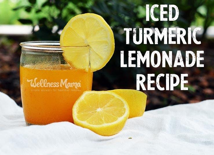 Recette de limonade au curcuma