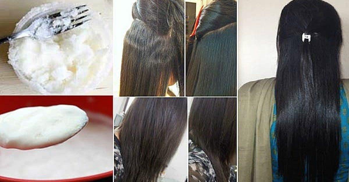 Lissez vos cheveux de facon permanente avec ces 4 ingredients 1