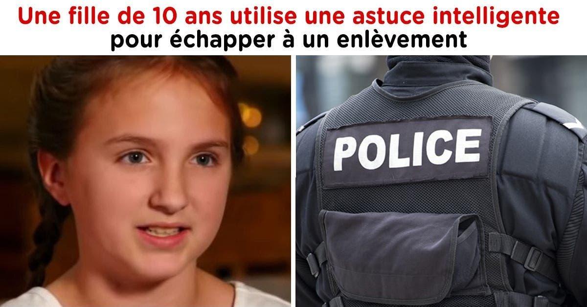 Une fille de 10 ans utilise une astuce intelligente pour échapper à un enlèvement. La police conseille aux parents d'apprendre cette astuce à leurs enfants