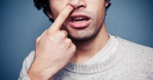 Manger ses crottes de nez est excellent pour la santé d'après les scientifiques