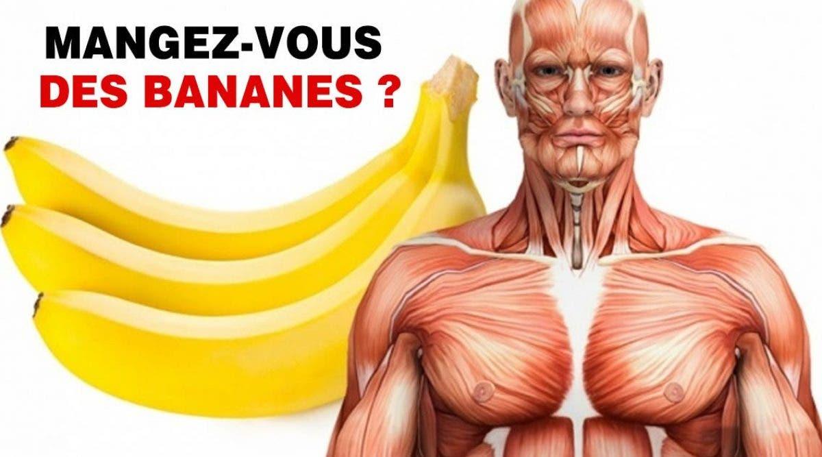 Ce qui arrive à votre corps lorsque vous mangez 2 bananes par jour