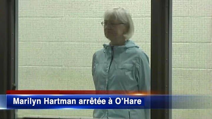 Marilyn Hartman arrêtée à OHare