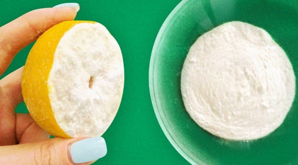 Mélangez du bicarbonate de soude avec du citron et vous vous rappellerez de moi le reste de votre vie