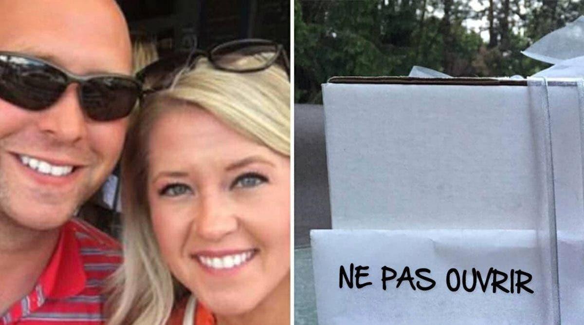Un couple ouvre le cadeau de mariage de sa tante neuf ans après qu'elle les ait avertis de ne pas l'ouvrir