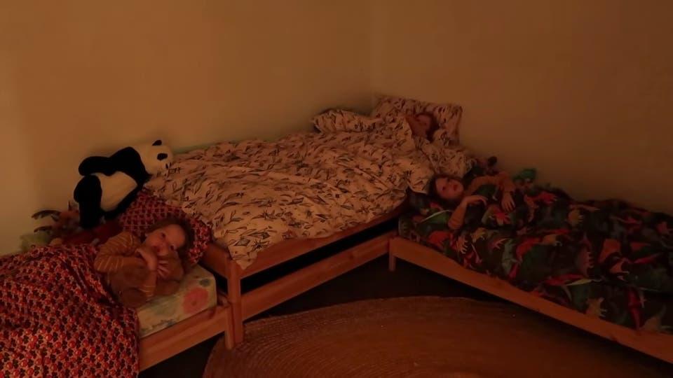 Tous les enfants sont au lit à partir de 20h00