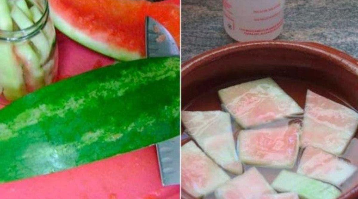 On est nombreux à jeter la peau de pastèque. Ces déchets sont incroyables pour la santé. Lisez-ceci !