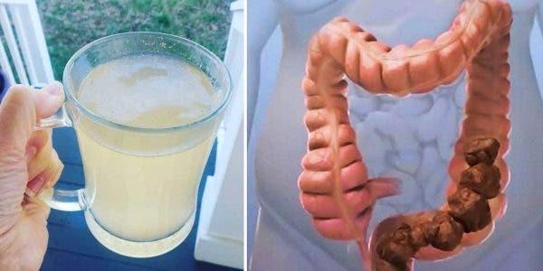 Nettoyez le colon en profondeur des déchets avec une boisson dépurative au citron