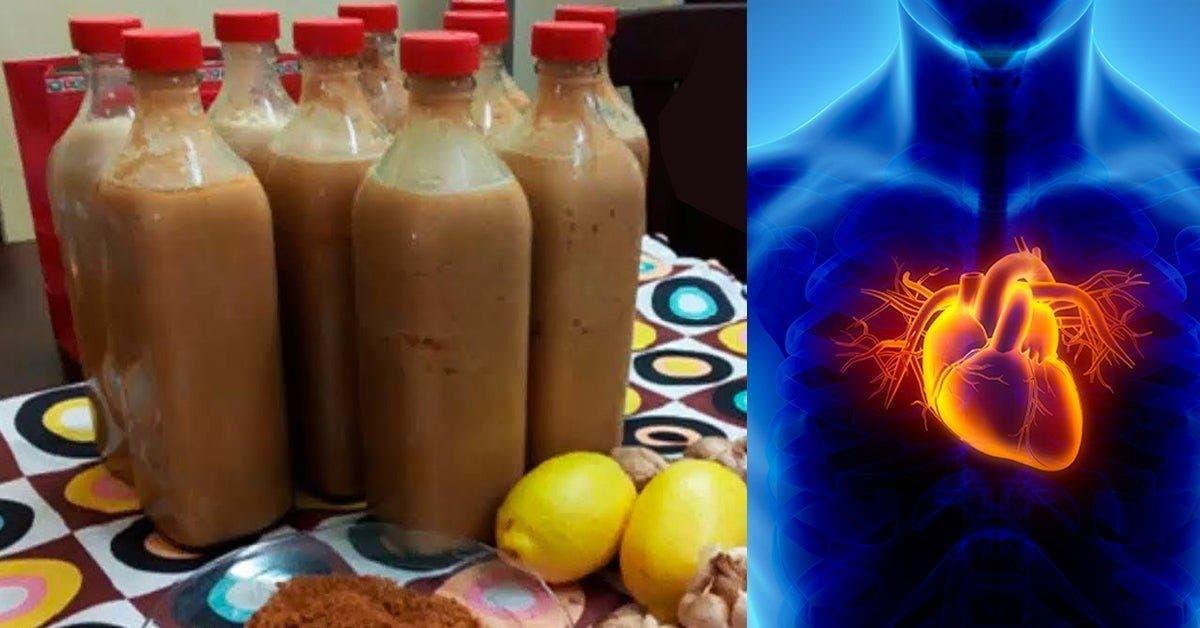 Nettoyez votre corps du mauvais cholesterol et eloignez les crises cardiaques avec une boisson a lail et citron 1 1