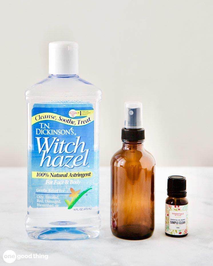 Fabriquer un spray naturel aux huiles essentielles