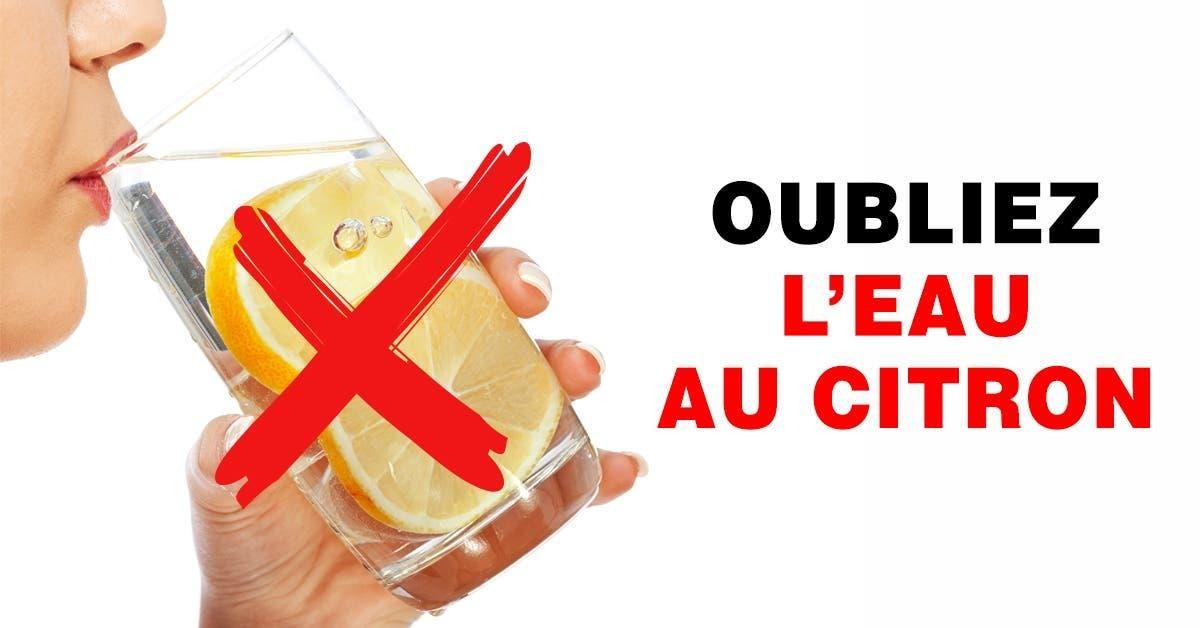 Oubliez leau au citron