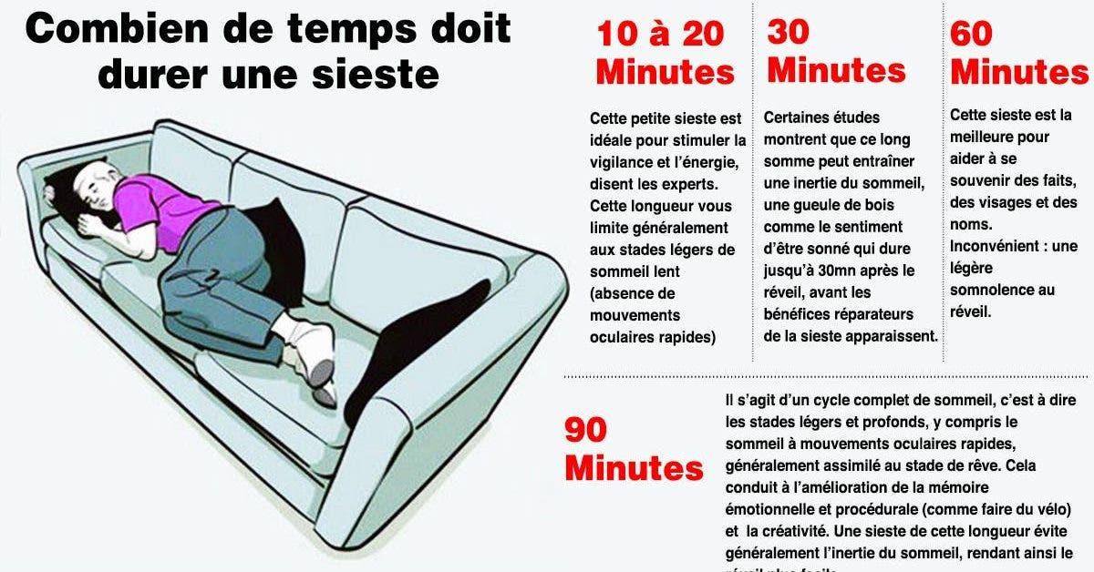 Faire une sieste améliore la santé