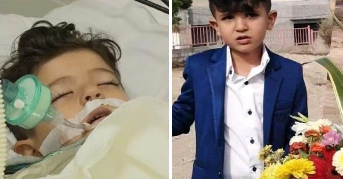 ce petit garçon est mort après les décès de son père