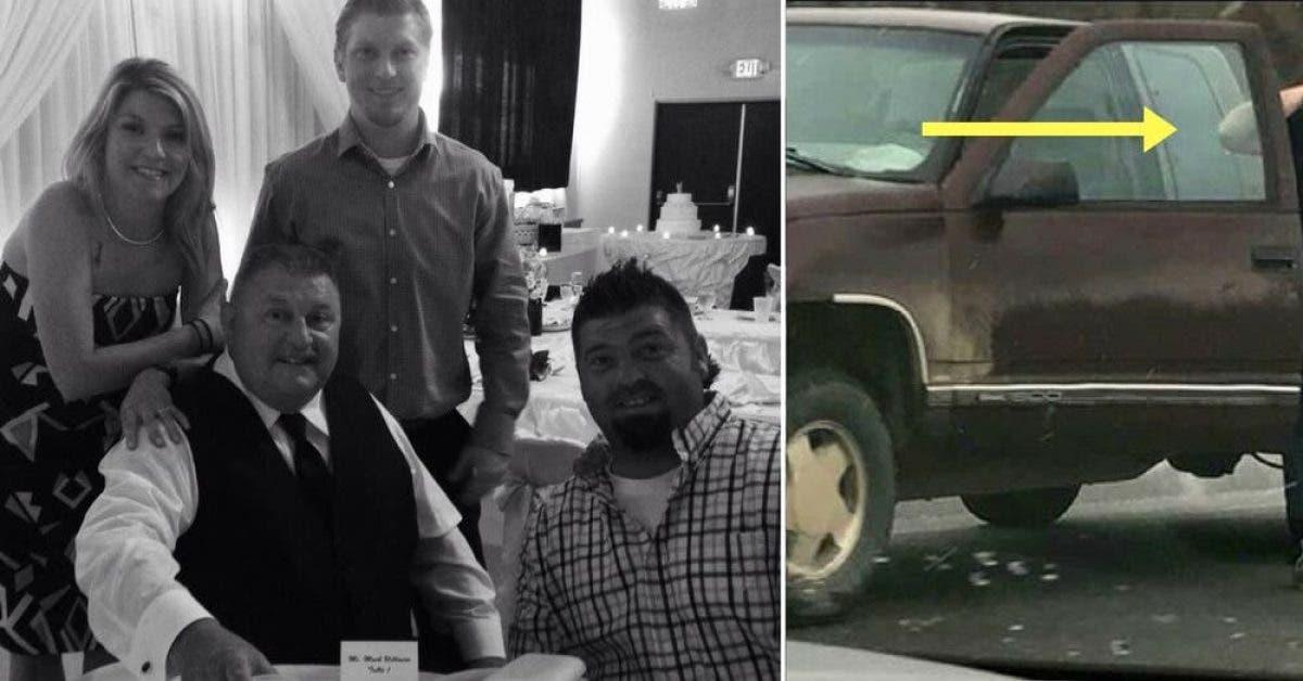 Pendant les funérailles de son oncle, il remarque un homme debout près de sa camionnette. Le geste de ce dernier émeut la famille du défunt…